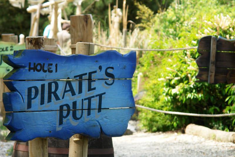 Minigolf Anlage Piraten Putt
