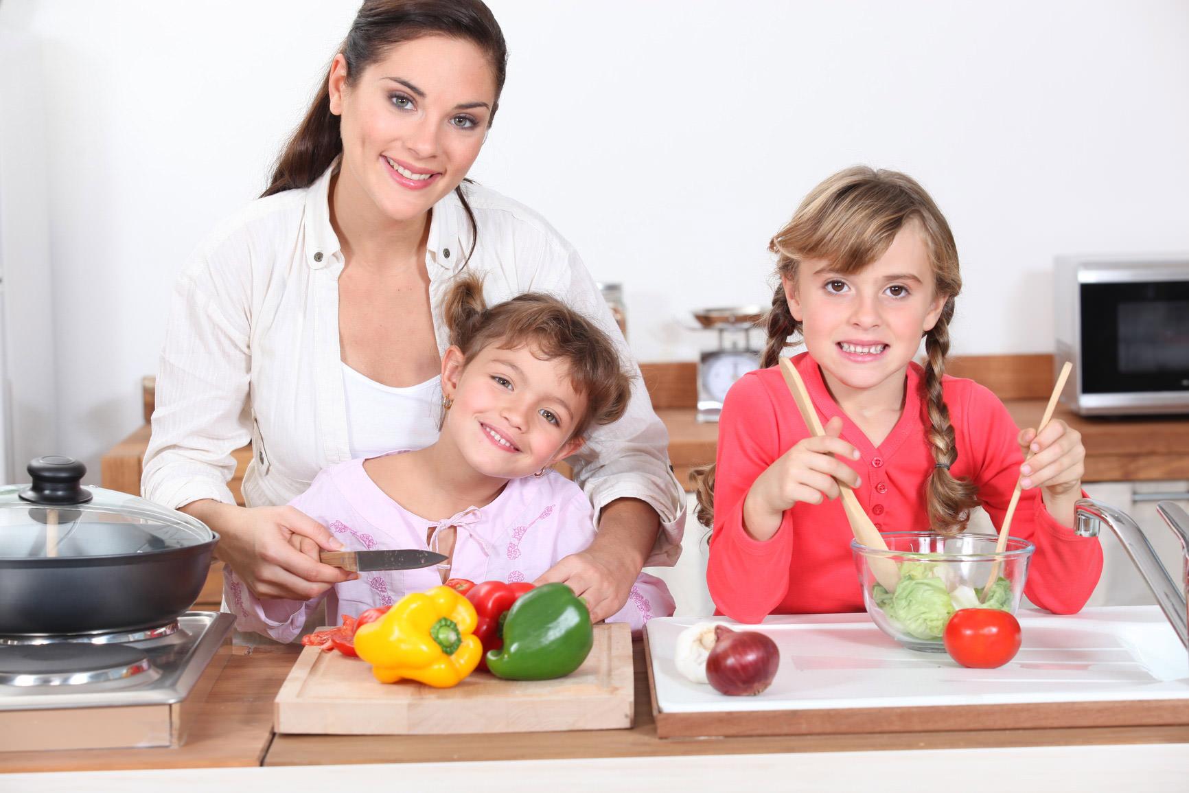 Kinder kochen mit
