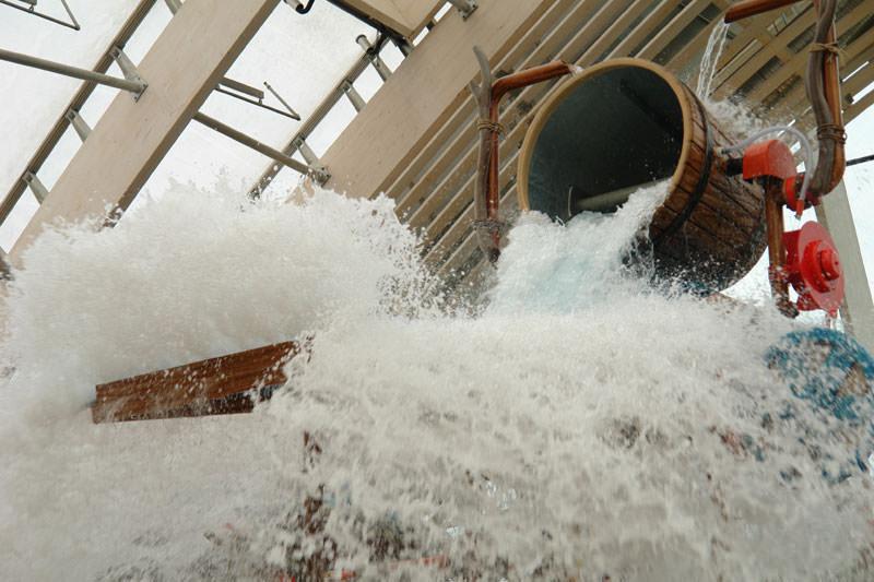 Das Aqua Mund im Center Parcs moselle