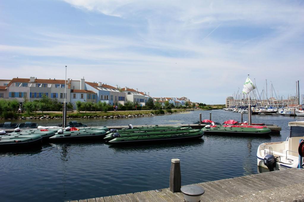 Boote zu vermieten im Port Zelande