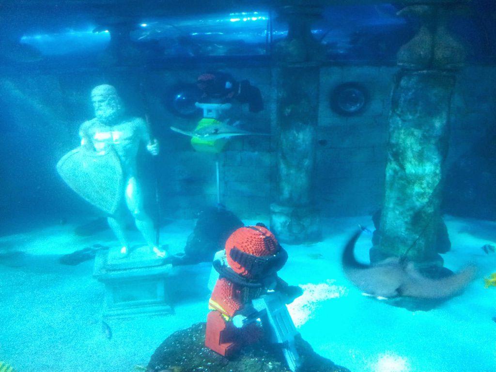 Legoland Atlantis - schöne Unterwasserwelt