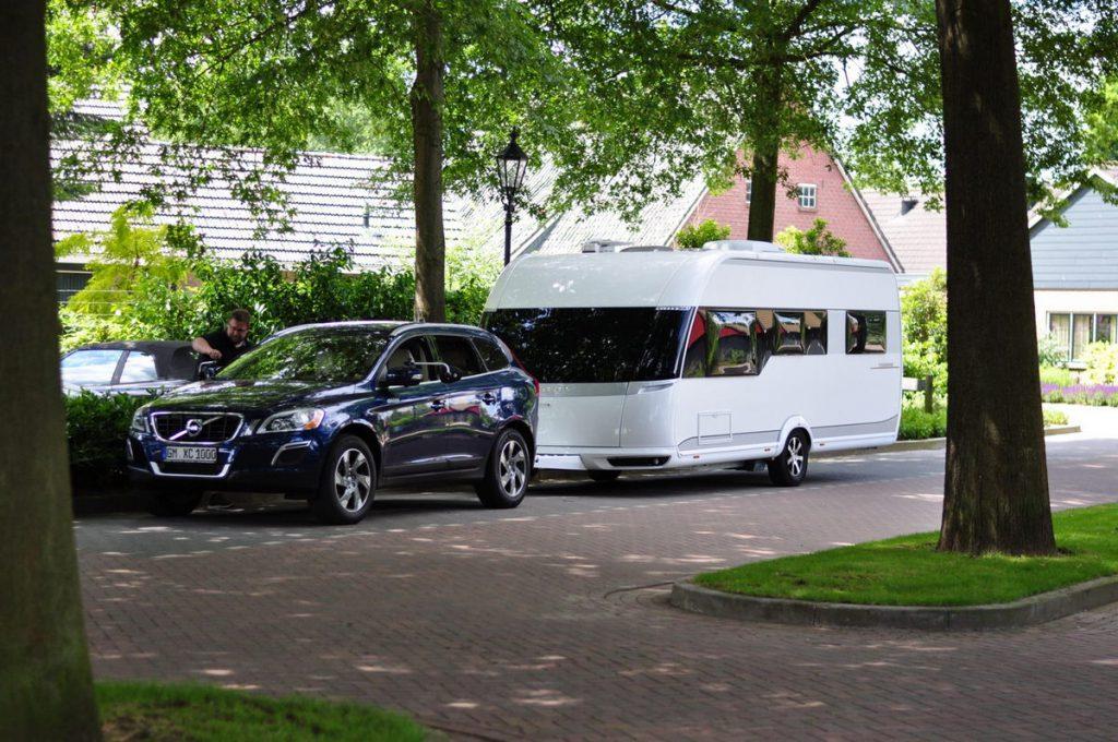 Volvo XC60 und Hobby Premium - ein tolle Gespann