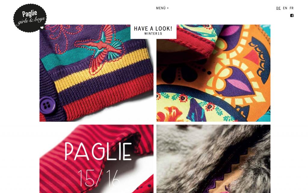 Paglie Herbst / Winterkollektion 2015