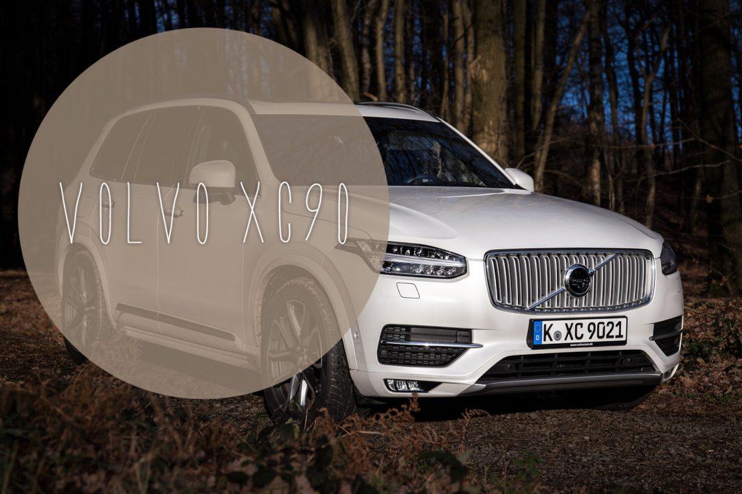 Volvo Xc90 Im Familien Test Fahrbericht Und Video