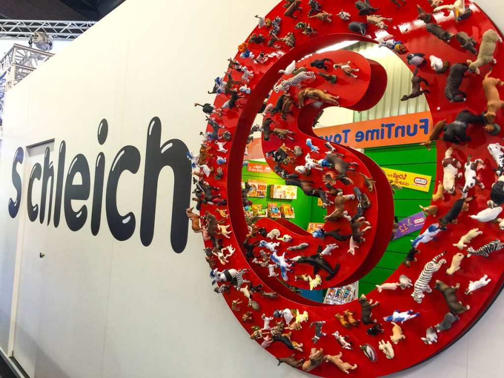 schleich Messestand