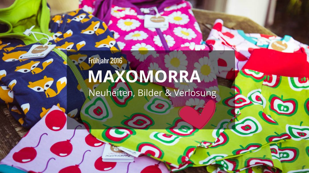 maxomorra Frühling 2016 kindermode