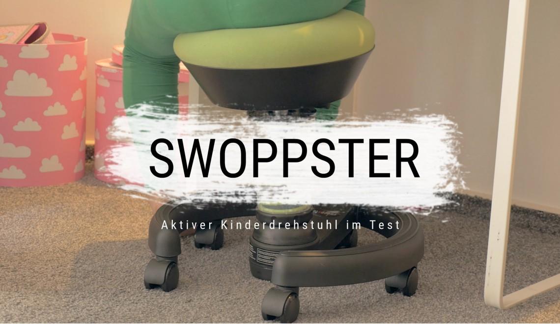 swopp swopp swoppster aktiver kinderdrehstuhl. Black Bedroom Furniture Sets. Home Design Ideas