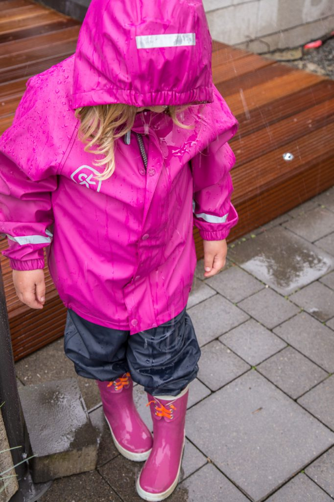 regenkleidung color kids