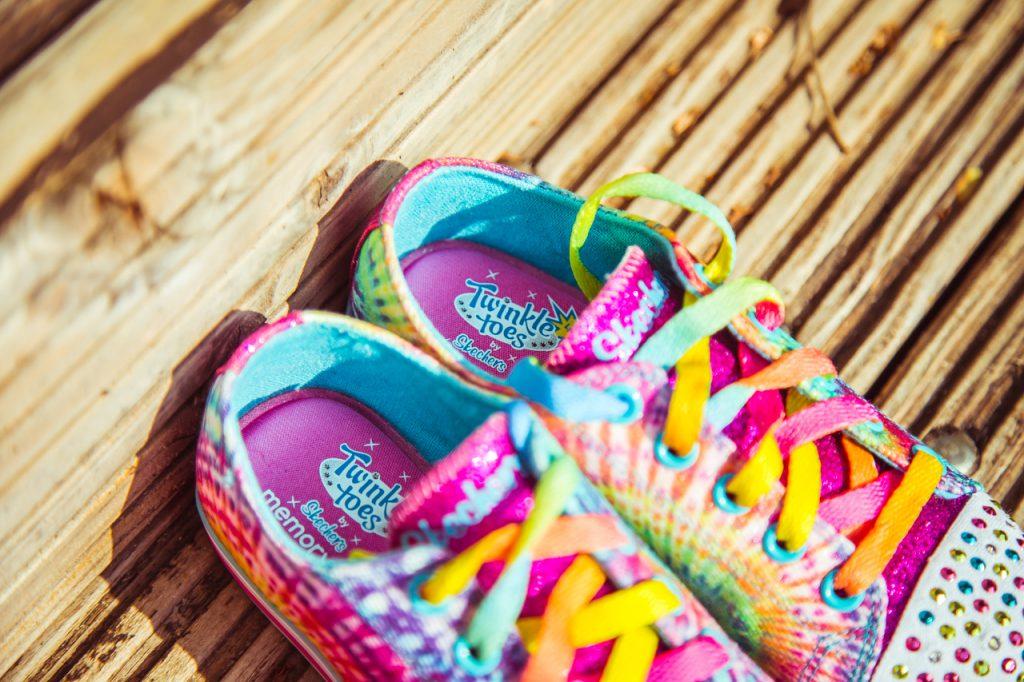 twinkle toes memory foam kinder