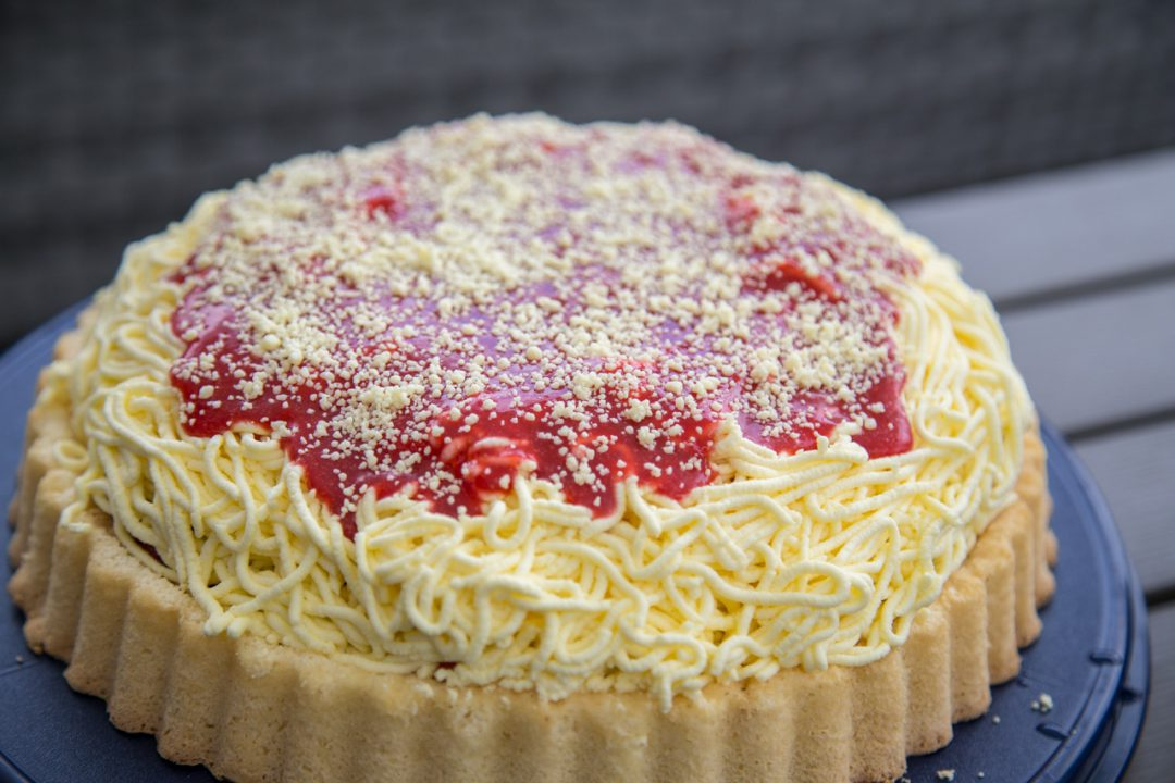 Spaghetti Eis Kuchen Noch Leckerer Als Das Spaghetti Eis Aus Der