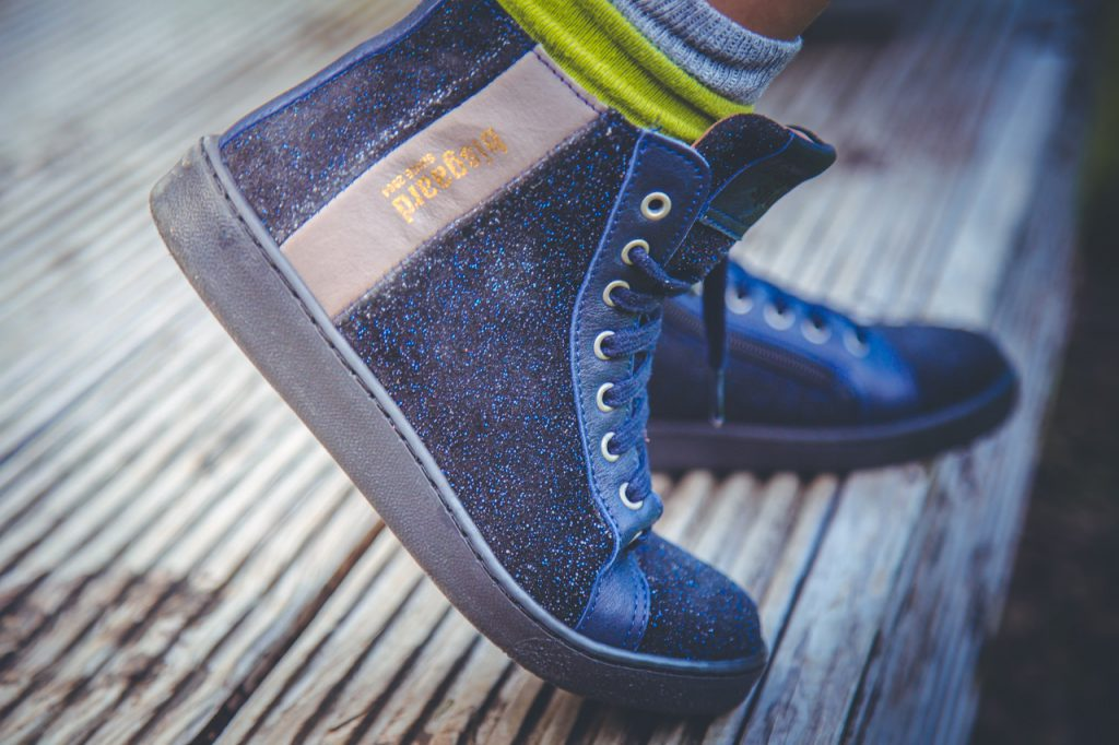 bisgaard glitzer sneaker