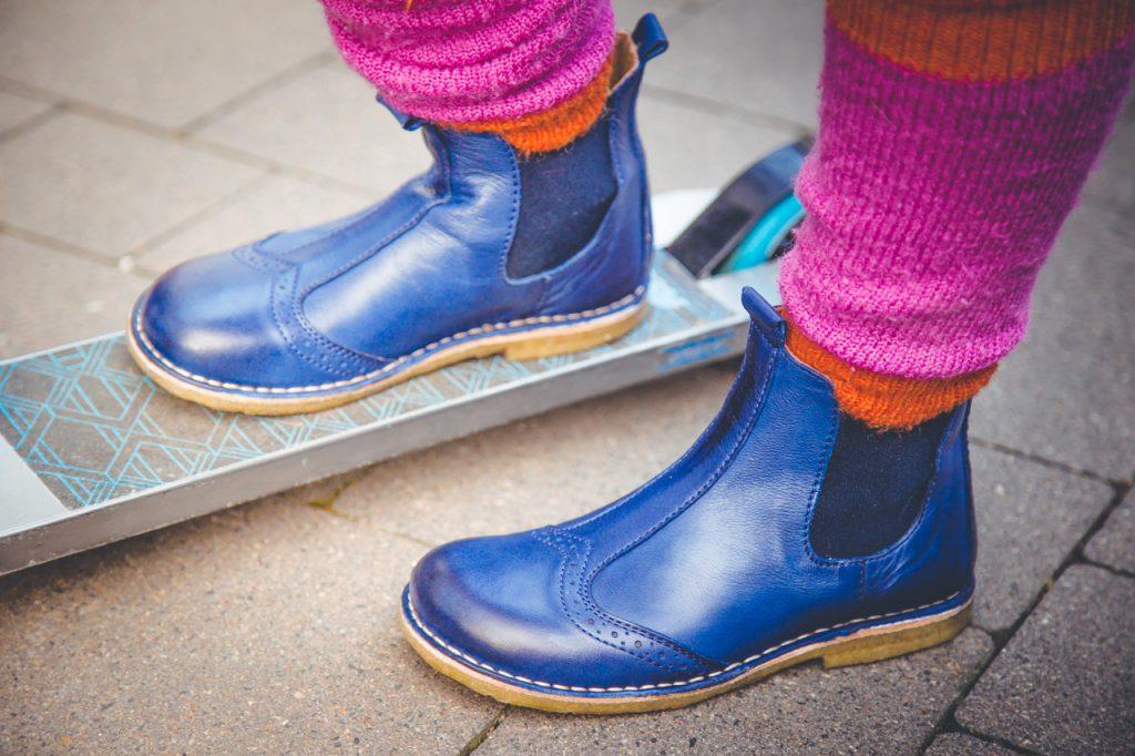bisgaard chelsea boots dunkelblau