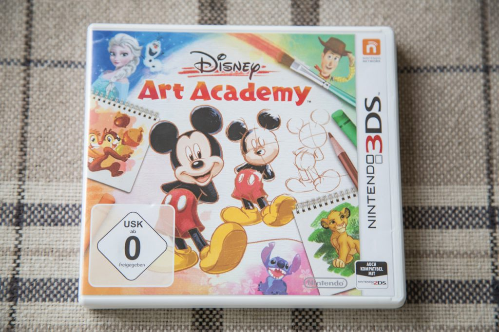 disneys art academy spielvorstellung test