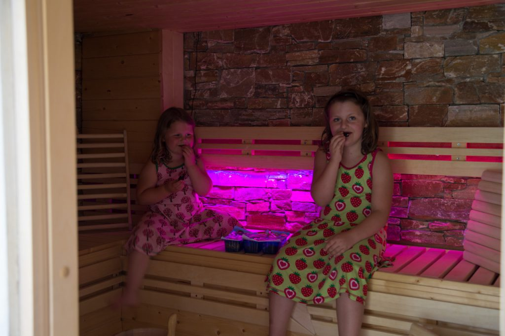 relax cottage mon petit chalet sauna