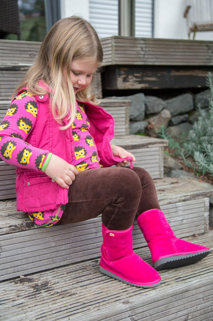 pololo boots pink