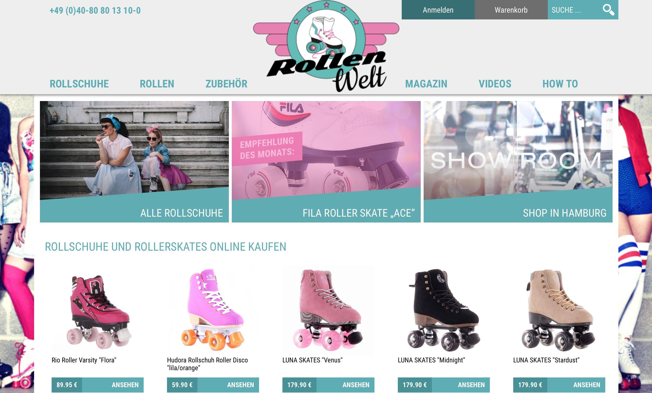 rollschuhe online kaufen