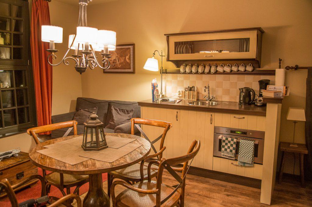poorthuys Wohnzimmer Küche