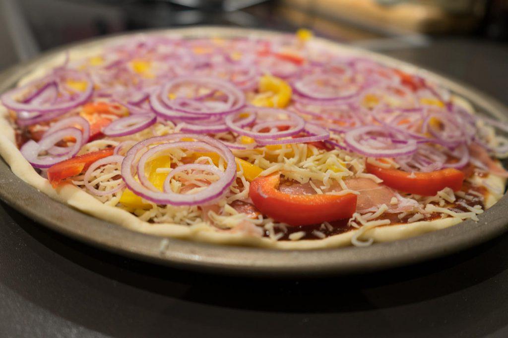 pizza wie von pizza hut