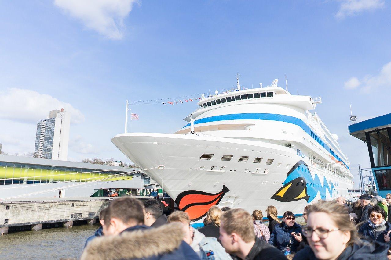 Aida hamburg Hafen