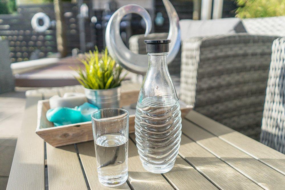 Wasser trinken 2 Liter täglich
