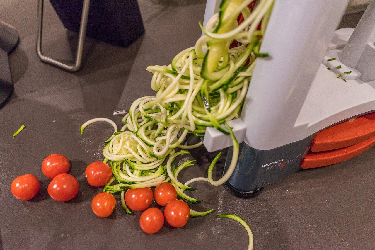 spiralenschneider zucchini spaghetti