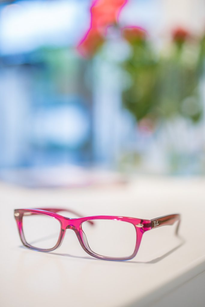 kinderbrille pink