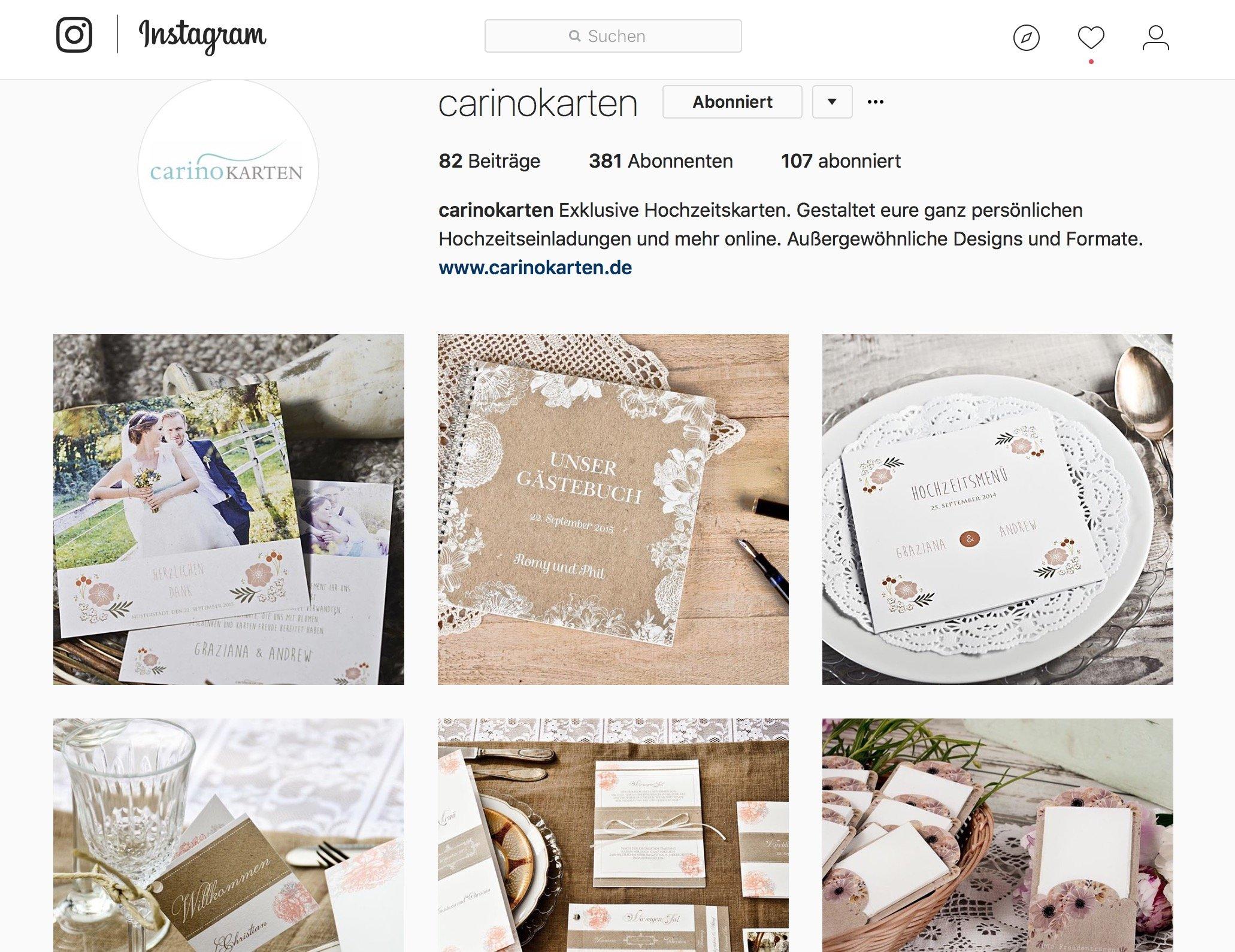 carinokarten instagram