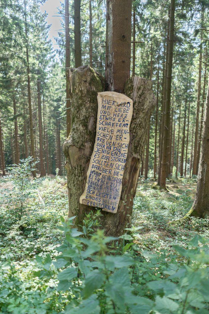 Wald wiedenest Holzkunstwerke