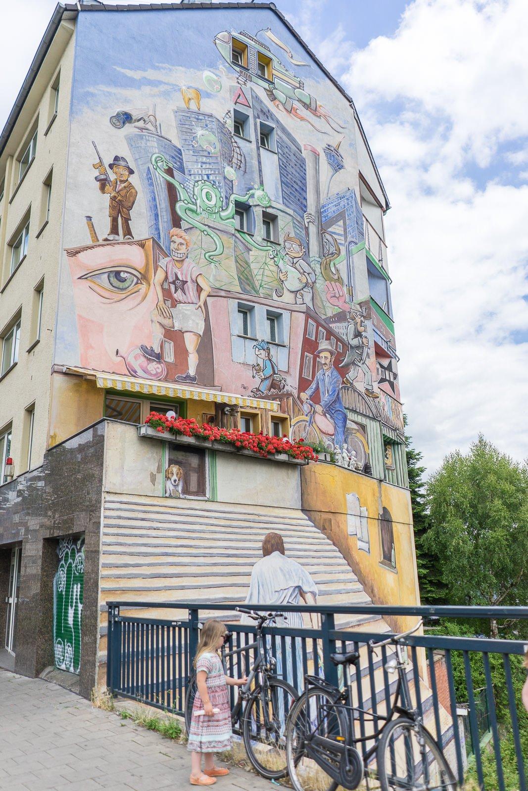 Düsseldorf haus Malerei