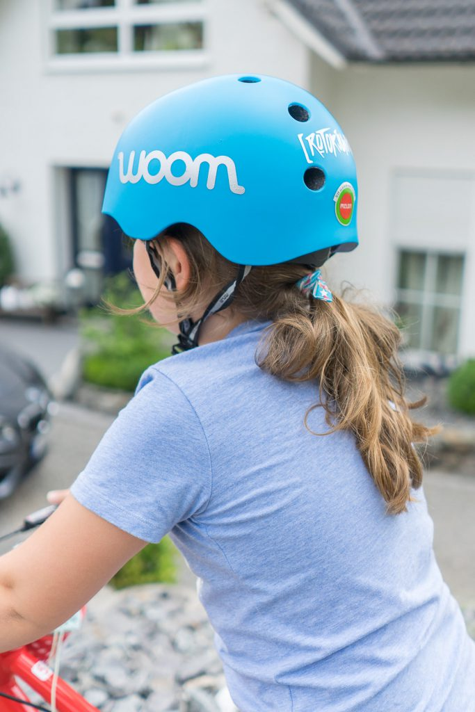 Woom bike helm