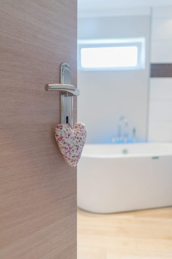 Badezimmer elegante Gelassenheit