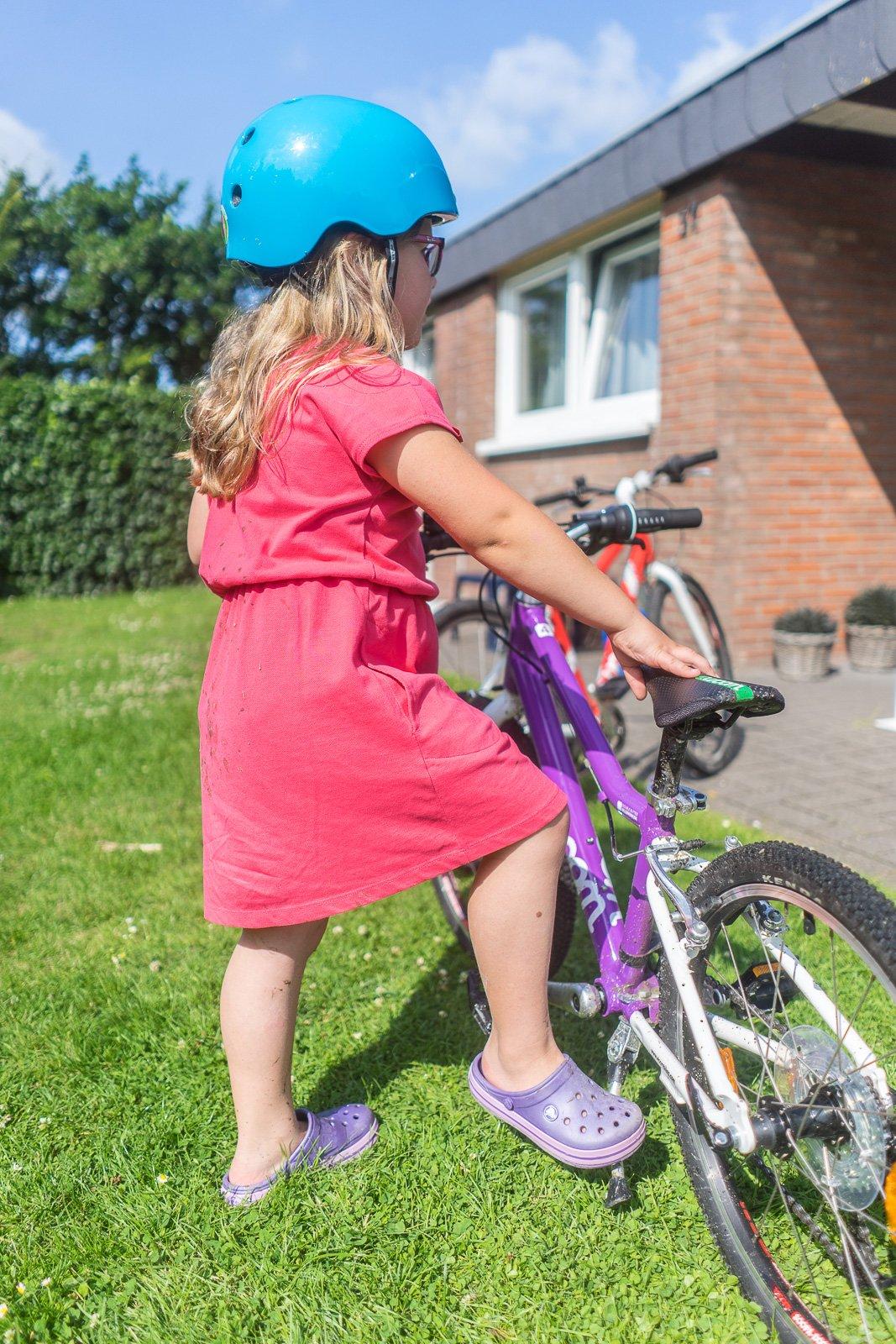 Fahrradhelm lebenswichtig