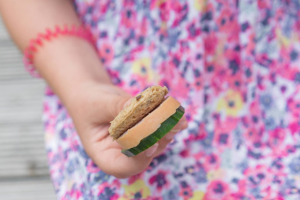 gurken-sandwich-schlange