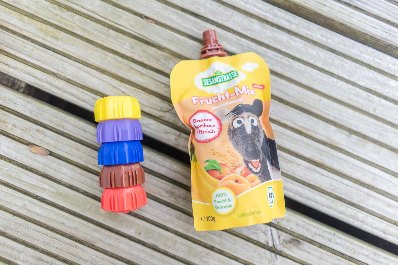 Sesamstrasse bio in der brotdose unsere l sung f r die for Welche deckel sammeln