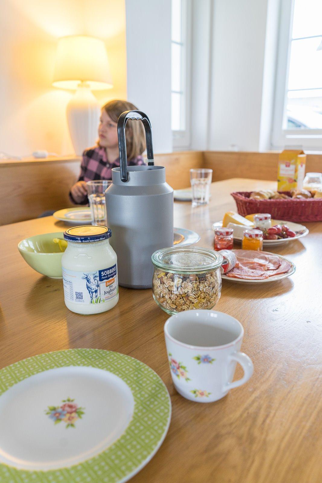 hof könne Bauernhofurlaub frühstück