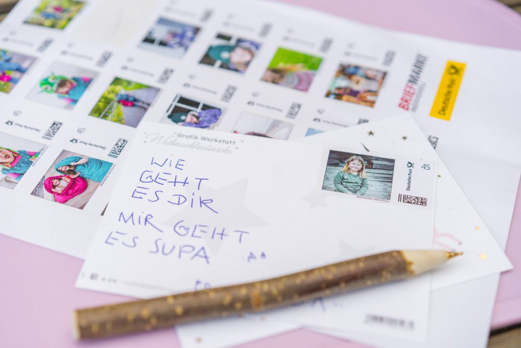 personalisierte Briefmarken post