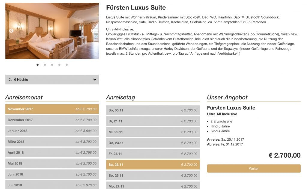 Zimmer alpenrose lermoos kosten