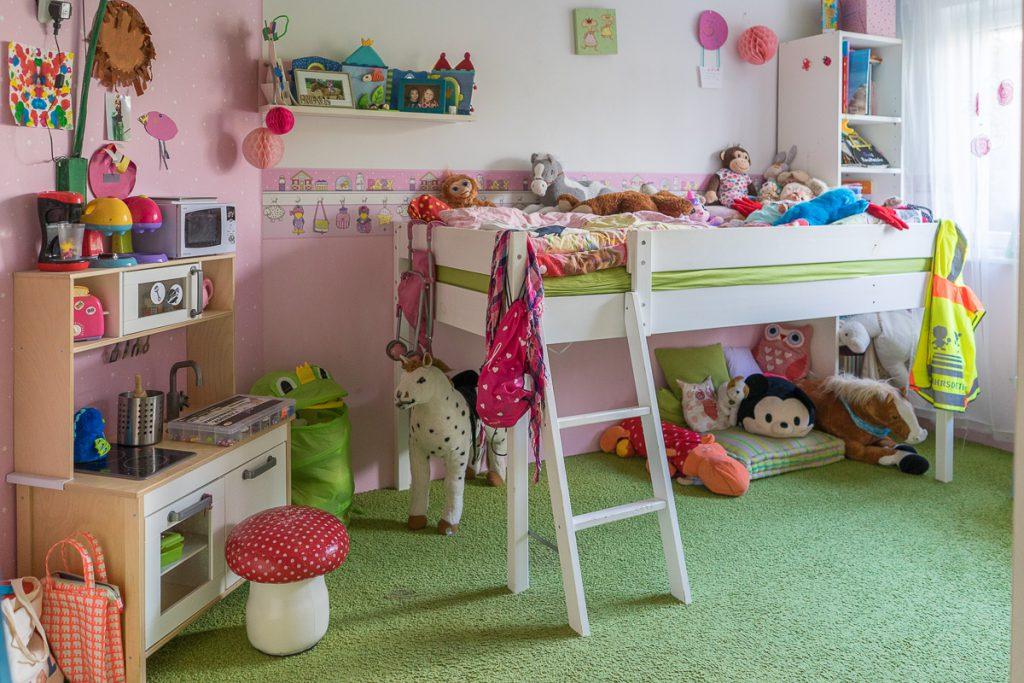 Kinderzimmer Renovierung zu voll