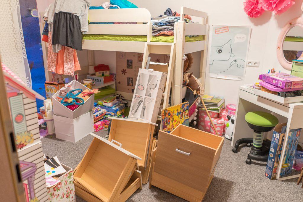 Kinderzimmer ausmisten