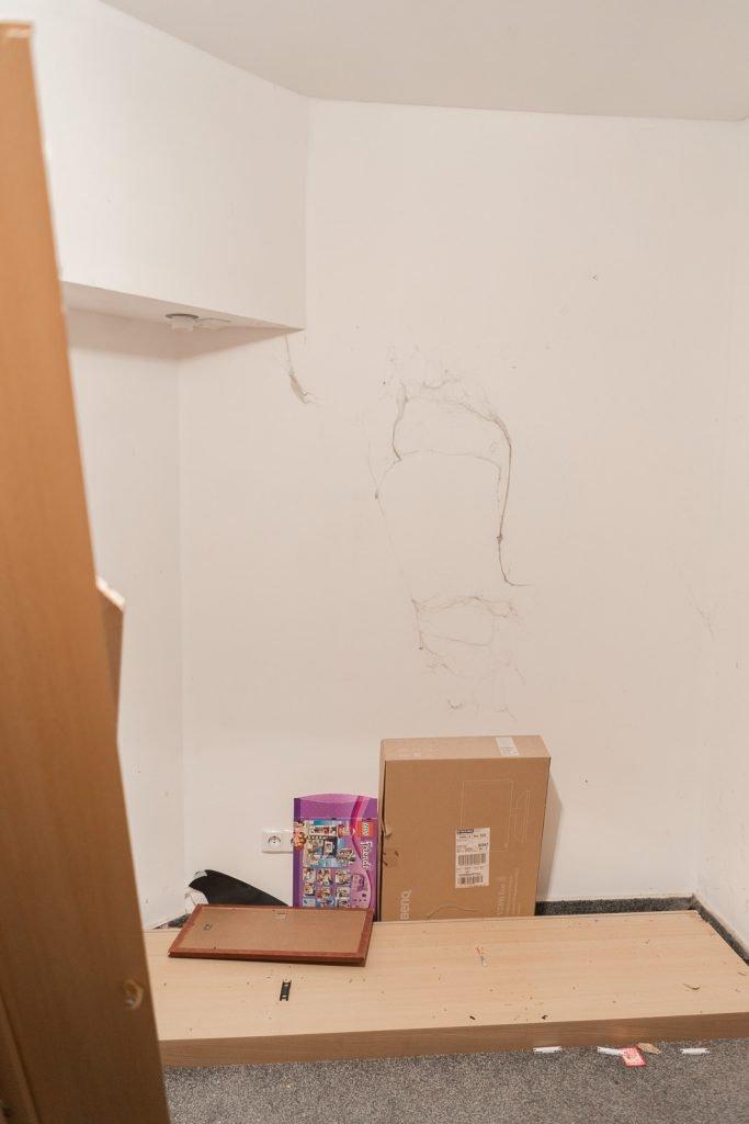 spinnengeweben Kinderzimmer
