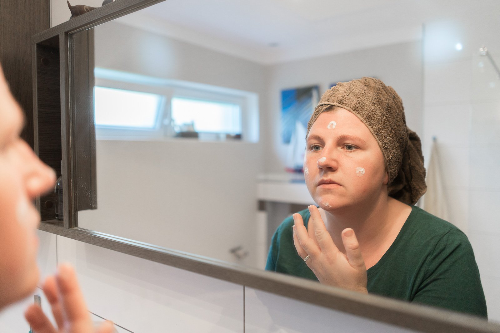 Gesichtspflege für die Haut ab 30