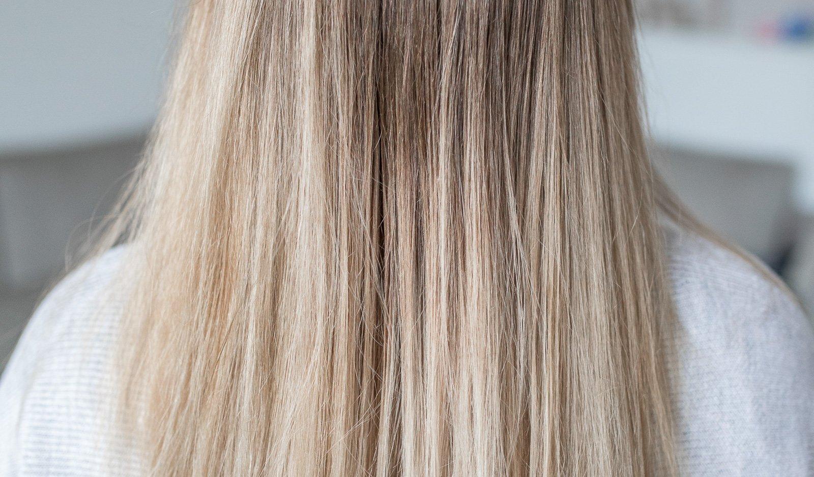 Gelbstich entfernen Silbershampoo