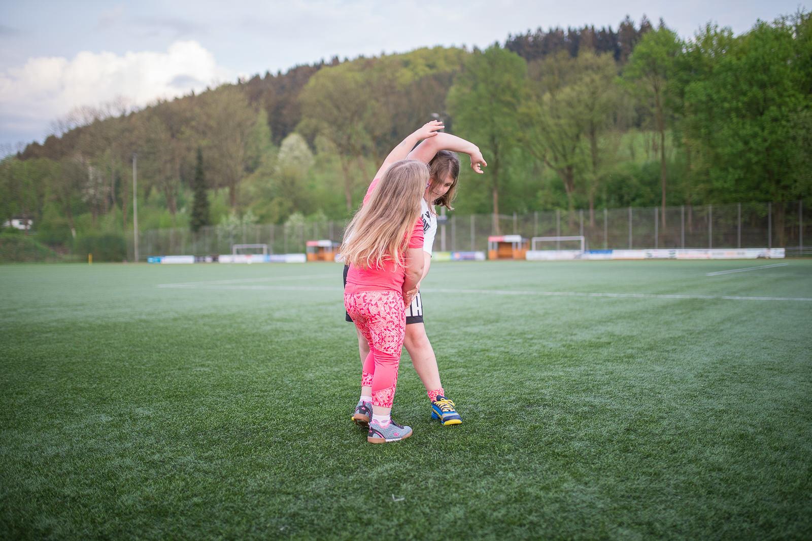 Sportplatz kinder