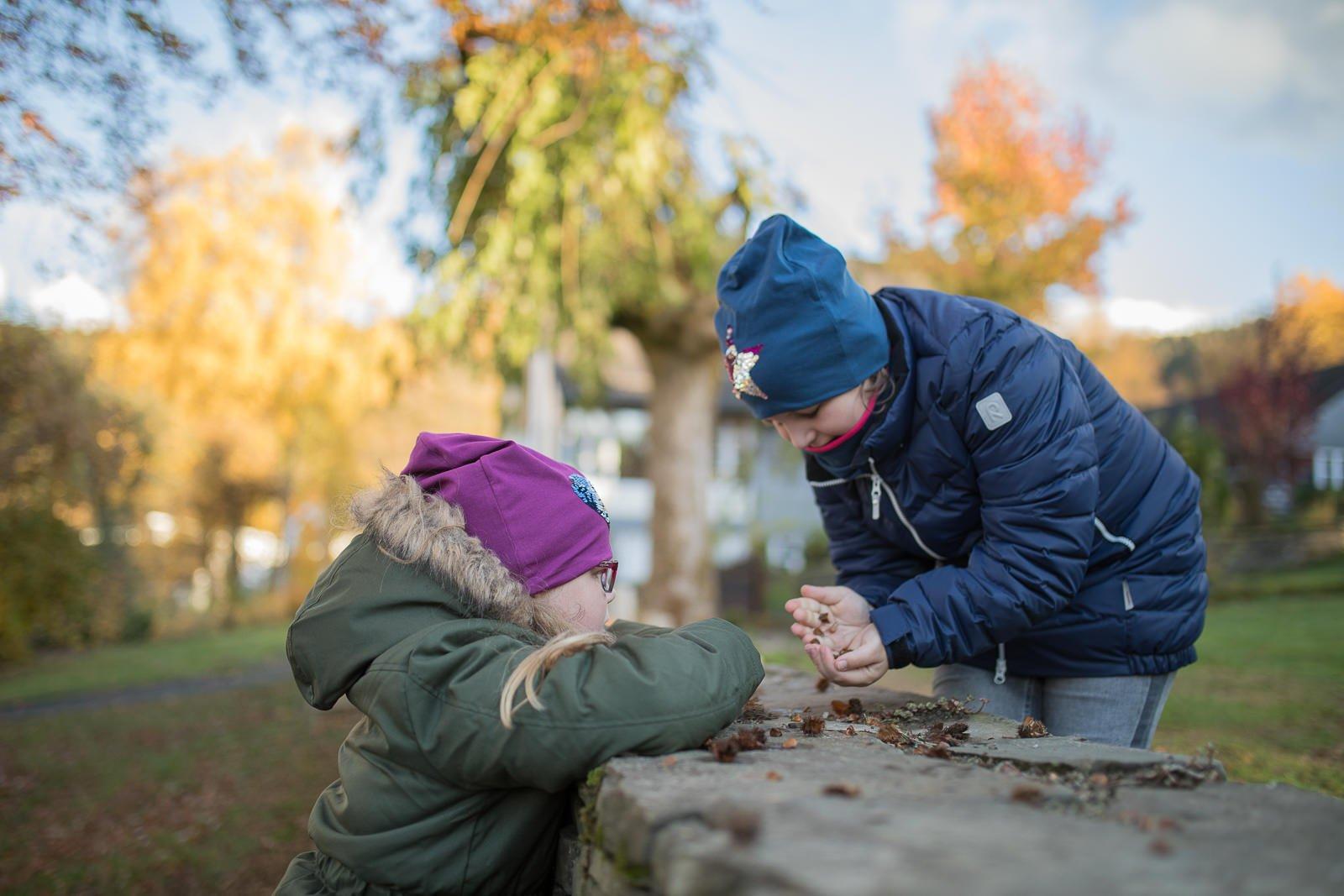 Herbstmode für kinder