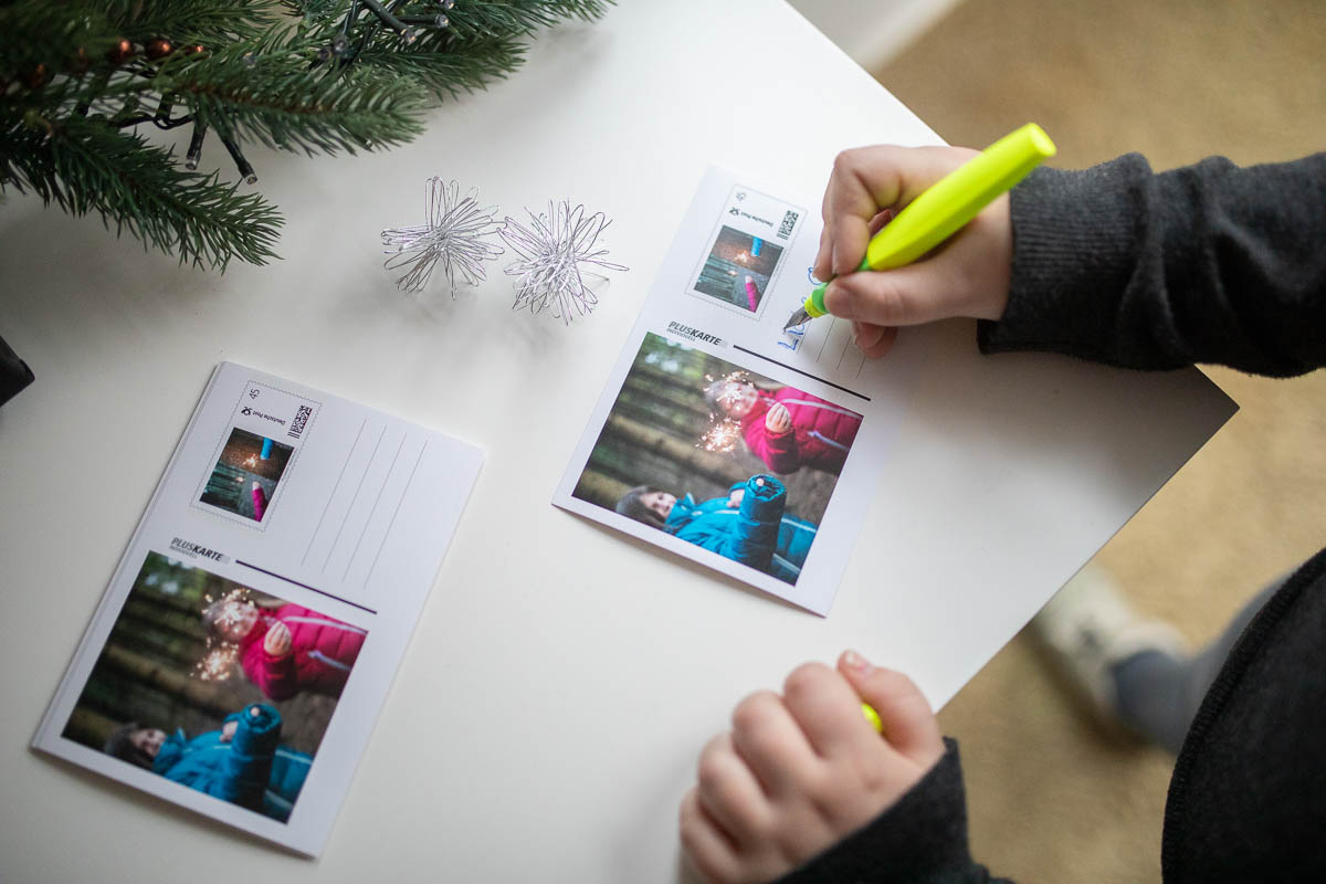 personalisierte Briefmarken