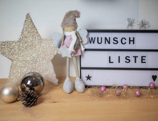 weihnachts Wunschliste