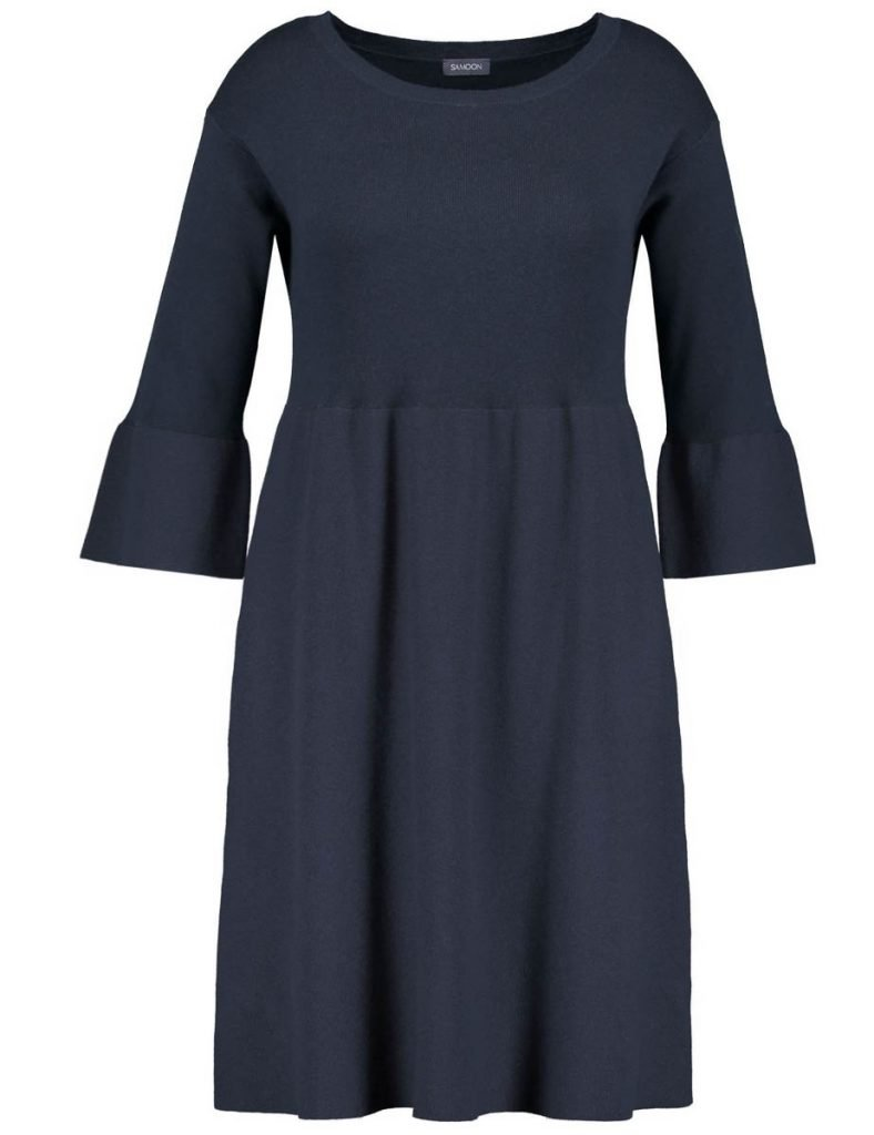 Wollkleid blau