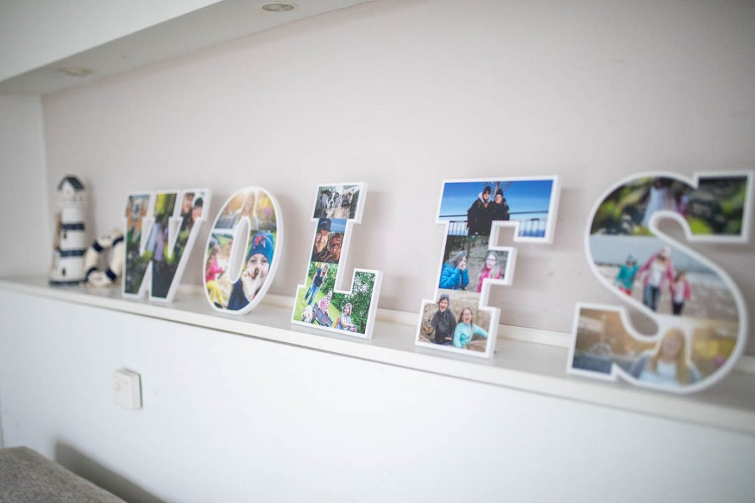 Fotobuchstaben personello