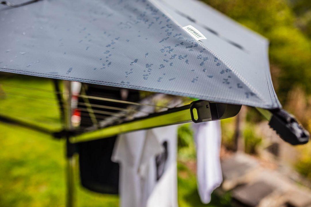 wäschespinne mit Dach schutz vor regen