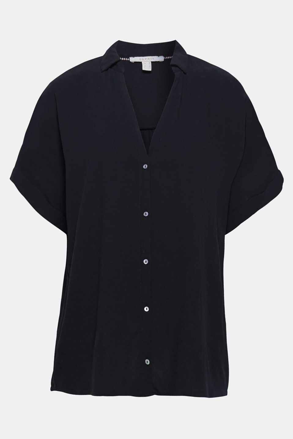 Hemdbluse schwarz